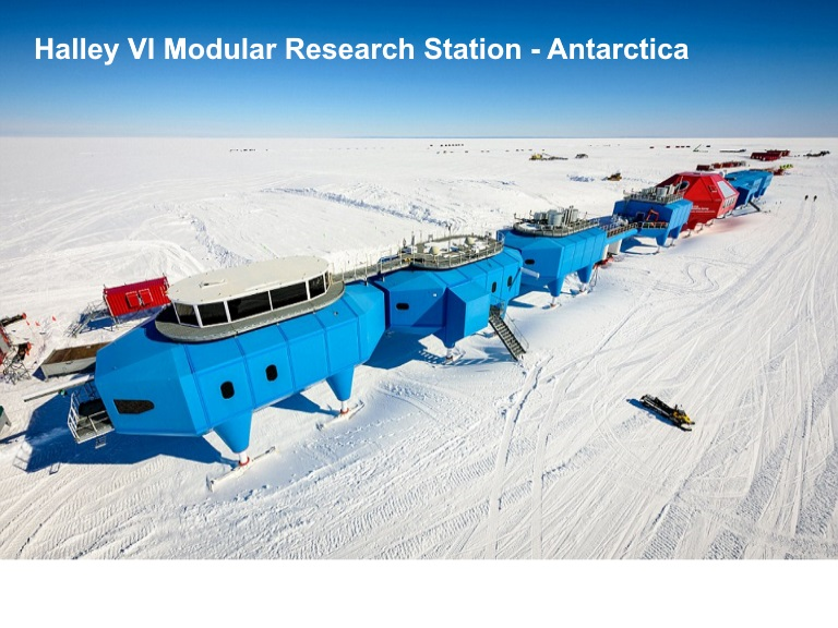 13D - Halley VI Modular Research Station Antarctica - JPEG