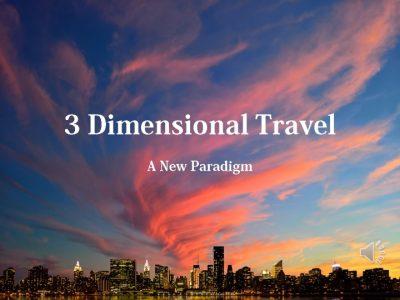 3 Dimensional Travel Title Slide - JPEG